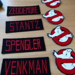 Ghostbusters Outfit Badges