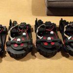 Proton Packs x4 Sprayed Assembled
